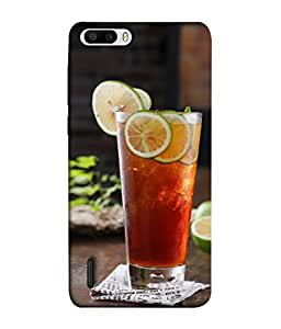 Fuson Designer Back Case Cover for Huawei Honor 6 Plus (Ice Cubes Served Drink Young Boy Girls Ladies )