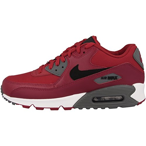 Nike Men's Air Max 90 Essential Gymnastics Shoes, Red (Gym Redblacknoble Redcool...