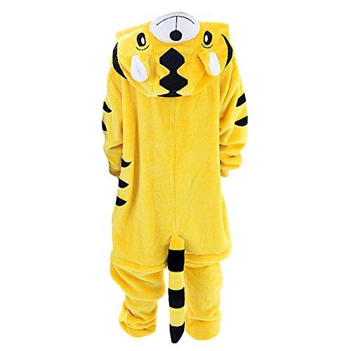 Free Fisher Kinder Tier-Schlafanzug, Kostüm, Tiger (Tiger Kostüme Kinder)