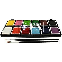 Diamond FX 12 Paleta de Colores - Regular (6 g)