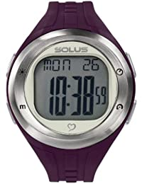 Solus Unisex Digital Watch with LCD Dial Digital Display and Purple Plastic or PU Strap SL-900-004