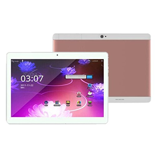 samLIKE 10,1 '' Tablet PC Mic WIFI Android 6,0 Octa Core 4 + 10,1 Zoll 2 SIM 4G HD (Rose Gold)