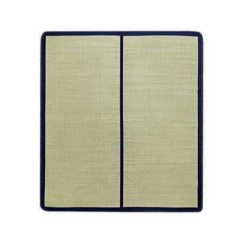 Liuyu · Tapis de haute qualité de tapis de gazon naturel choisi par coeur Sélection de tapis de qualité d'herbe, tissage fin et durable Tapis de bambou simple (taille : 120 * 200cm)