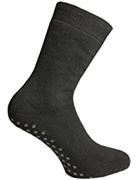 Weri Spezials Hommes ABS Eponge Chaussettes Noir
