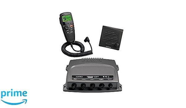 Garmin 00757 11 VHF 300i AIS MARINE TRANSCEIVER Black