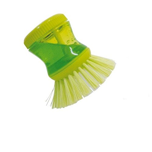 ADITYA INFO™ SOAP DISPENSING DISH WASHING BRUSH KITCHEN CLEANING BRUSH FOR SINK WASH DISHWASH