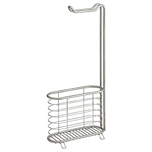 Interdesign Forma Ultra Toilet Roll Holder and Magazine Stand