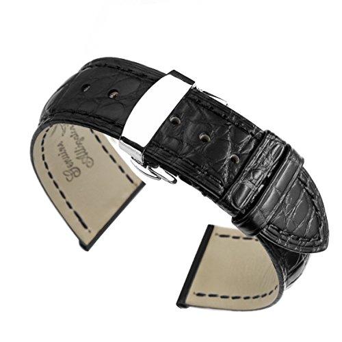 piccole-cinghie-orologio-da-polso-nero-strette-12mm-delle-donne-sostituzioni-chiusura-di-distribuzio