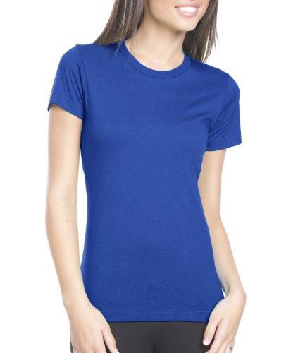 Next Level Damen T-Shirt Blau - Kobaltblau