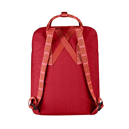Fjällräven 2018 Sac à dos loisir, 45 cm, 30 liters, Rouge (Deep Rojo-Folk Pattern)