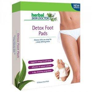 Herbal Skin Doctor - Cerotti detox per piedi