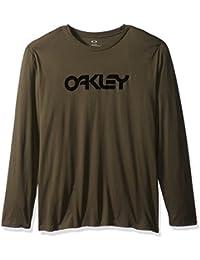 X-Large , dark brush : Oakley Men's 50-Mark Ii L/s Tee