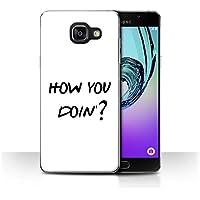 Coque de Stuff4 / Coque pour Samsung Galaxy A5 (2016) / How You Doin'? Design / Drôle Sitcom TV Parodie Collection