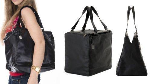 mandarina-duck-sac-bandouliere-pour-femme-noir-schwarz-black-30x29x22-cm-bxhxt