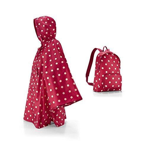 **Conjunto especial** Reisenthel Mini Maxi sdintel + Poncho - puntos de rubí