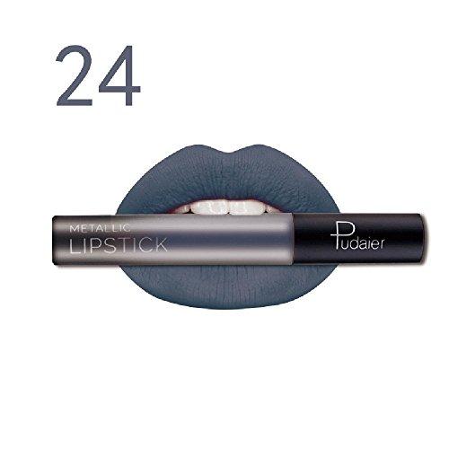 Lipgloss,Rabatt,PorLous 2019 Beliebt Langlebiger Lippenstift Wasserdichter Mattflüssiger Lipgloss Lip Liner Cosmetics Feuchtigkeitsspendend 11
