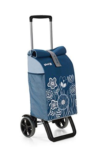 Gimi Rolling Einkaufstrolley, blau