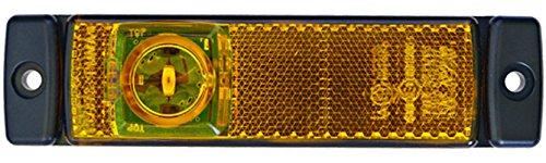 HELLA 2PS 008 645-011 Seitenmarkierungsleuchte, Anbau links/rechts waagerecht, LED, 1500 mm Kabel, 12 V