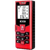 Laser-Entfernungsmesser BEVA Distanzmessgerät (Messbreich bis 40m/±2mm mit LCD Hintergrundbeleuchtung, Staub- und Spritzwasserschutz IP54)