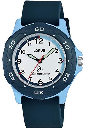 Lorus Kids Montre Mixte Analogique Quartz avec Bracelet Silicone RRX13GX9