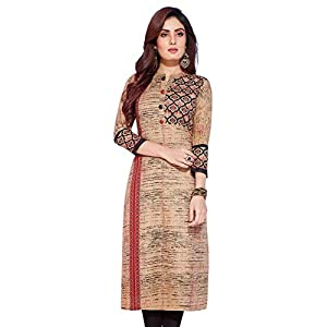 Jevi Prints – Pack of 2 Women's Unstitched Lawn Cotton Printed Kurti Fabrics (Fabrics only for Top)