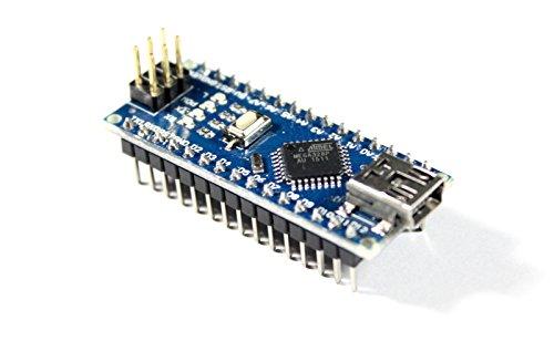 Nano V3.0 Modul mit ATmega328P, CH340G, 5V Board, 16MHz, aufgebaut, Arduino kompatibel