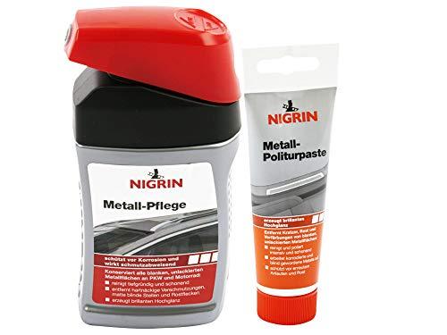 Nigrin Entfernt auch hartnäckige Verschmutzungen und Rostflecken