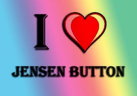 I HEART JENSEN BUTTON KÜHLSCHRANKMAGNET - Jensen Button