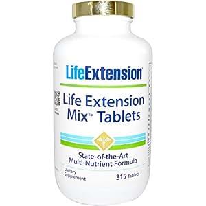 Life Extension Mix, Multivitamin, 315 Tabletten