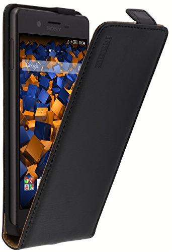 mumbi Flip Case für Sony Xperia X Tasche