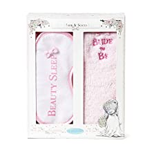 Me To You Bride to Be Eye Mask and Socks Gift Set, Boxed