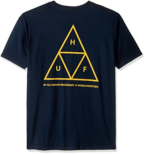 HUF Triple Triangle T-Shirt Navy