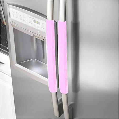 Sunday 1 Paar Kühlschrank Griff Abdeckung Küche kühlschrank abdeckung (Rosa) (Dekorieren Sie Einen Kissenbezug)