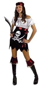 Cesar I512-001 - Hottie Totties Sexy Piratin Größe 36 (Größeninformation auf Verpackung: T1, Size 8/10, Size 36/38)