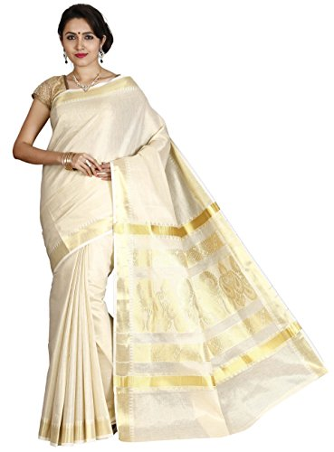 Jisb Soft tissue saree with fancy self design