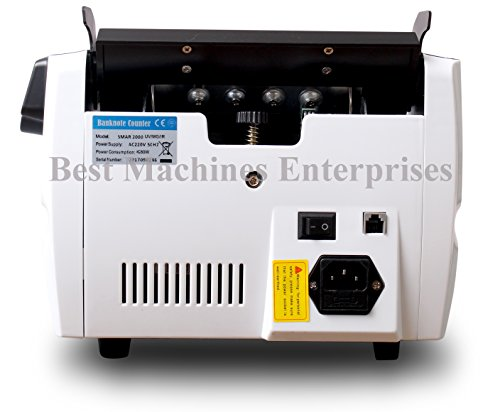 BME Smart 2000 - Stylish And User Friendly Cash Counting Machine With Fake Note Detection