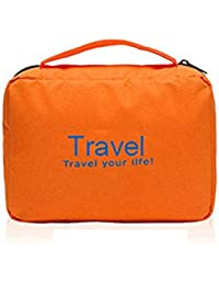 MSE *OFFER SHOE RACK WITH TRAVEL POUCH* Everbuy Travel Your Life! Travel Bag To Carry YOur Toiletries(Color As... - B073PJN13H
