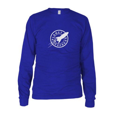 Kostüm Zoidberg - Planet Express - Herren Langarm T-Shirt, Größe: L, Farbe: blau