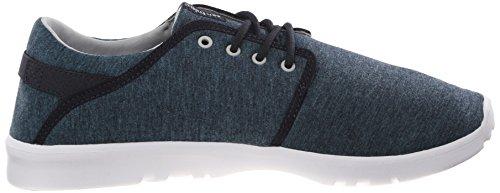 Etnies Scout, Scarpe da Skateboard Uomo Blu (Blau (416/NAVY/GREY/WHITE))