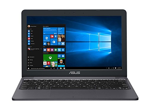 ASUS E203NA 29,4 cm (11,6 Zoll HD) Notebook (Intel Celeron N3350, 4GB RAM, 32GB EMMC, Intel HD Graphics, Win10) Grau