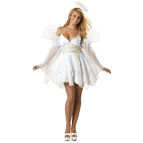 Teufel Engel Kostüme (Damen Kostüm SWEET ANGEL Engel Gr. S Weihnachtsengel Weihnachten)