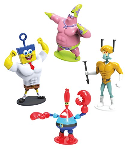 ongebob Superhelden Figuren Set (Kinder Spongebob Kostüme)