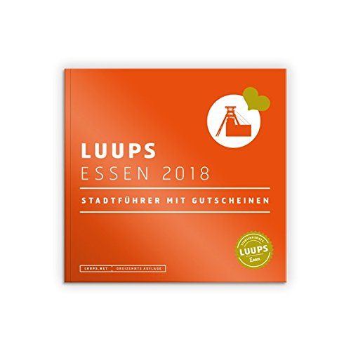 LUUPS Essen 2018: Stadtführer mit Gutscheinen