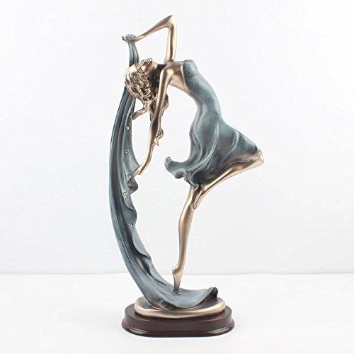 IEuropean Tänzerin Harz Handwerk kreative Geschenk Geschenk Ornamente zeichen Wohnzimmer Schrank Dekoration