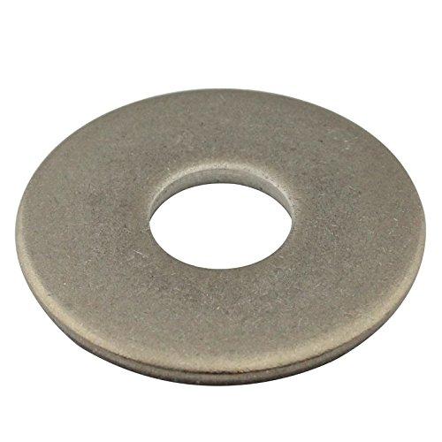 SC-Normteile | 25 Stück Große Unterlegscheiben (Beilagscheiben) | M10 | DIN 9021 | rostfreier Edelstahl A2 (V2A) | SC9021