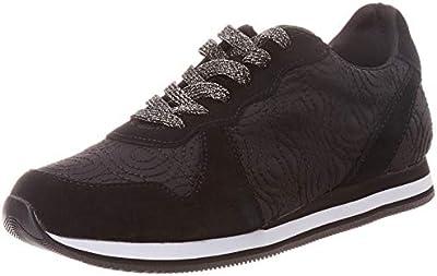Desigual Shoes Pegaso LOGOMANIA, Zapatillas para Mujer, Negro (Negro 2000),
