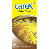Carex Extra Time PowerShot Kondom, 10 Stück Pack preisvergleich bei billige-tabletten.eu