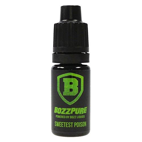 BozzPure Aromakonzentrat Sweetest Poison, zum Mischen mit Basisliquid für e-Liquid, 0.0 mg Nikotin, 10 ml