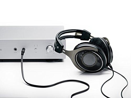 Shure SRH1840, offener Kopfhörer / Over-ear, schwarz/silber, High-End, geräuschunterdrückend, Kabel austauschbar, Velourpolster, natürlicher Klang, erweiterte Höhen, akkurater Bass, gematchte Wandler - 8