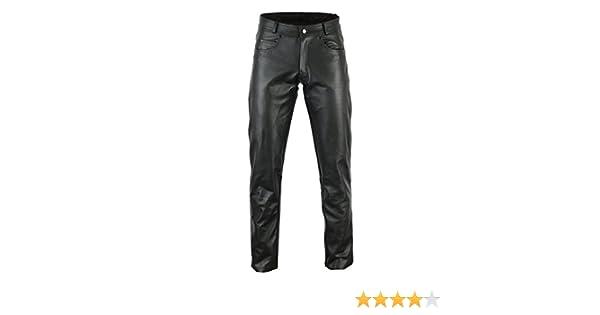 1/PU Armour Premier Vache Taille taille 2/x L Bikers Gear Rock et rouleau de cuir pour femme Pantalon de moto Ce1621 Noir